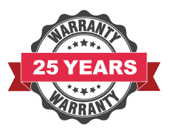 Treated Timber 25 year warranty