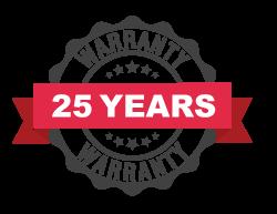 Treated Timber 25 year warranty